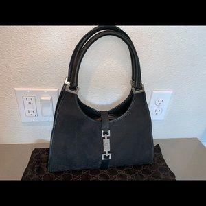 Authentic Gucci Jackie o shoulder satchel bag